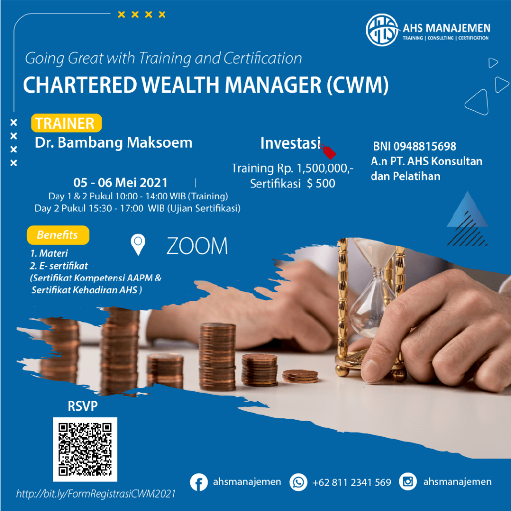 Chartered Wealth Manager-CWM (05-06 Mei 2021)