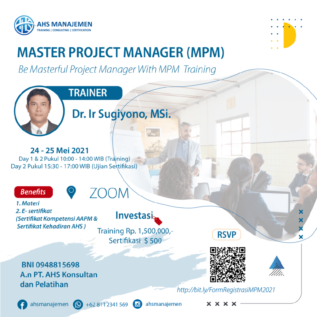 6.Master Project Manager-MPM (24-25 Mei 2021)